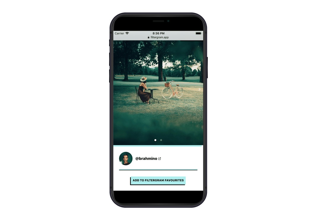 FILTERGRAM: Instagram ohne Social