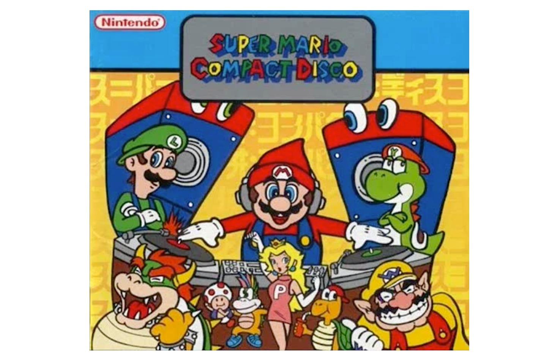 Super Mario Compact Disco ?