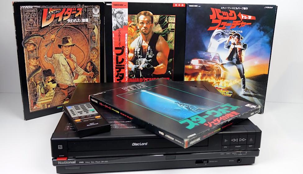 Movies on Vinyl - VHD The forgotten 1980s Videodisc ?