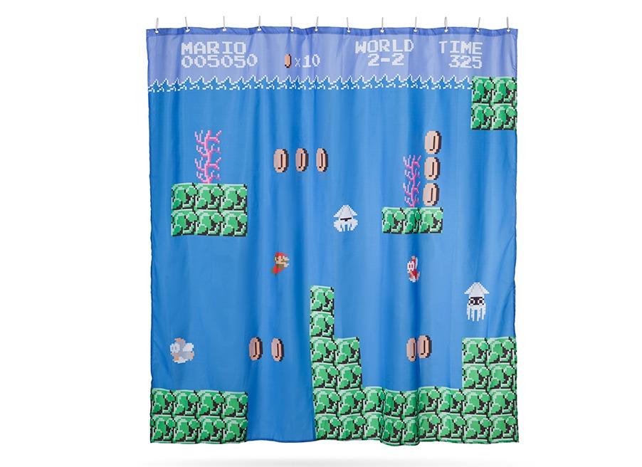 World 2 Shower Curtain