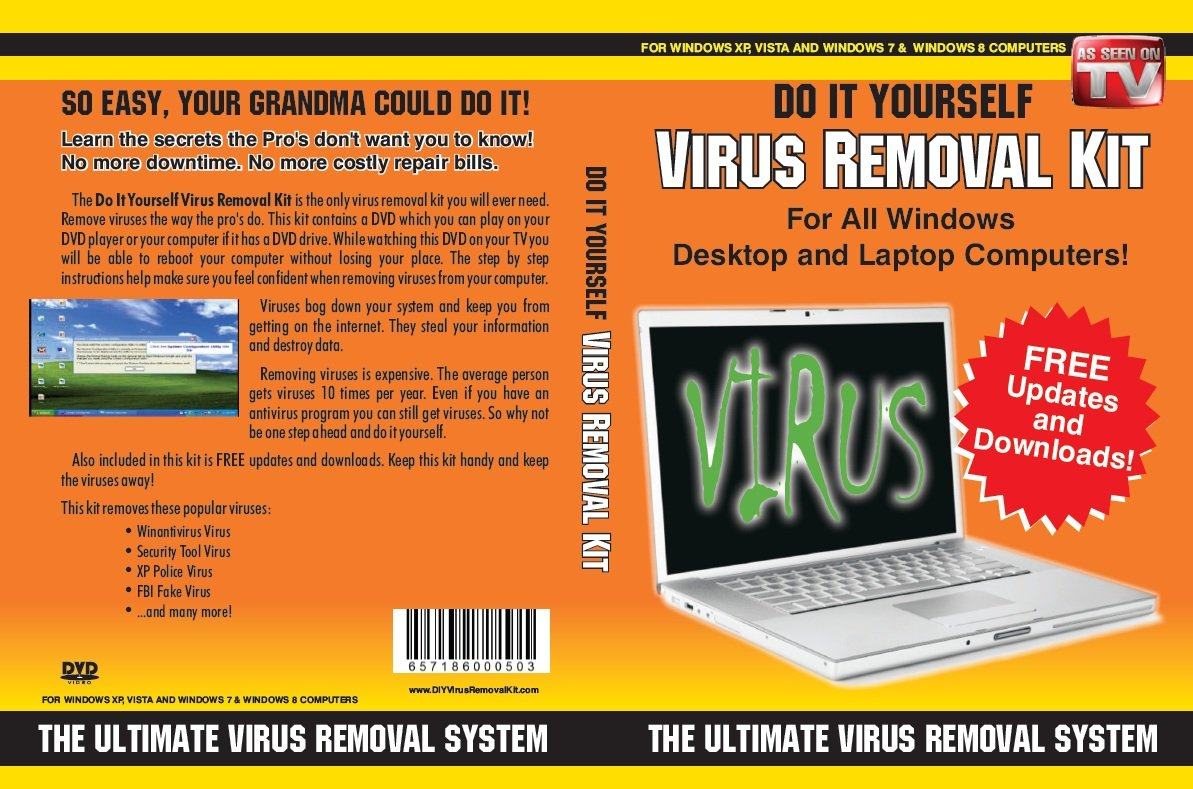 Do It Yourself Computer Virus Removal Kit