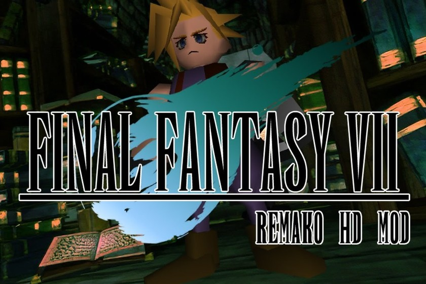 Grab a remastered 'Final Fantasy VII' Mod for free