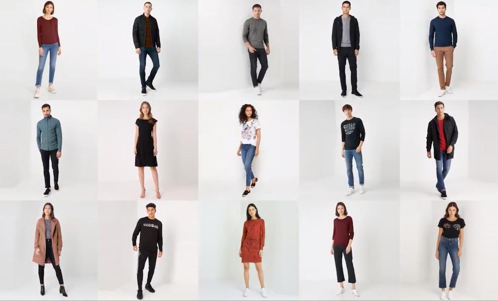 Virtuelle Katalog Models