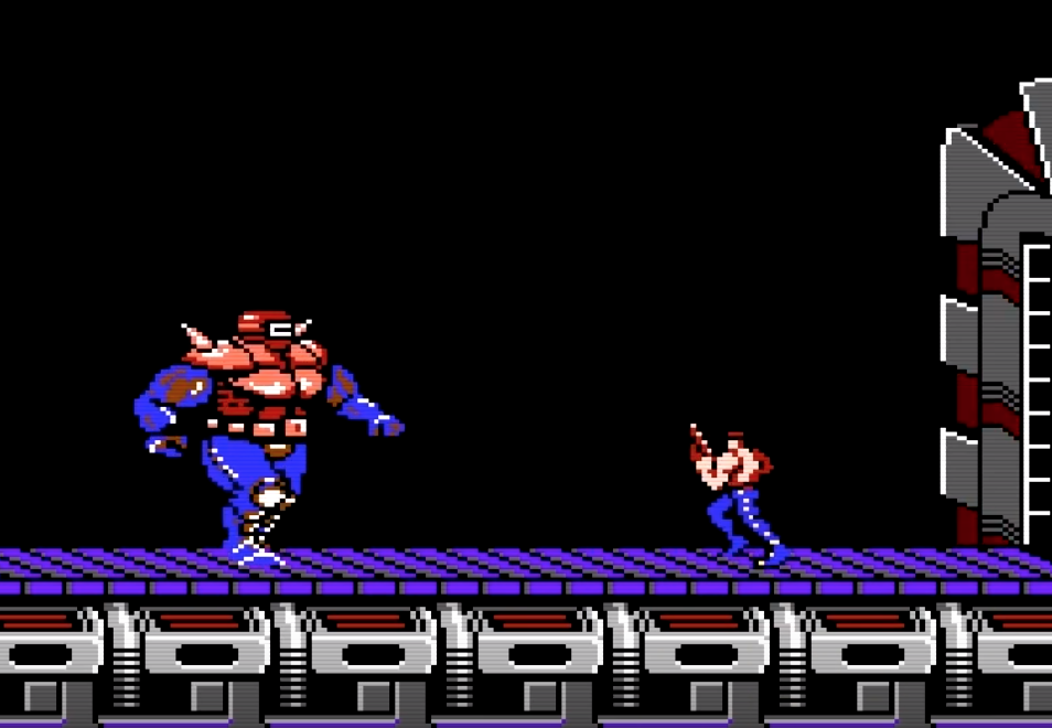 Beating 'Contra' without getting hit!