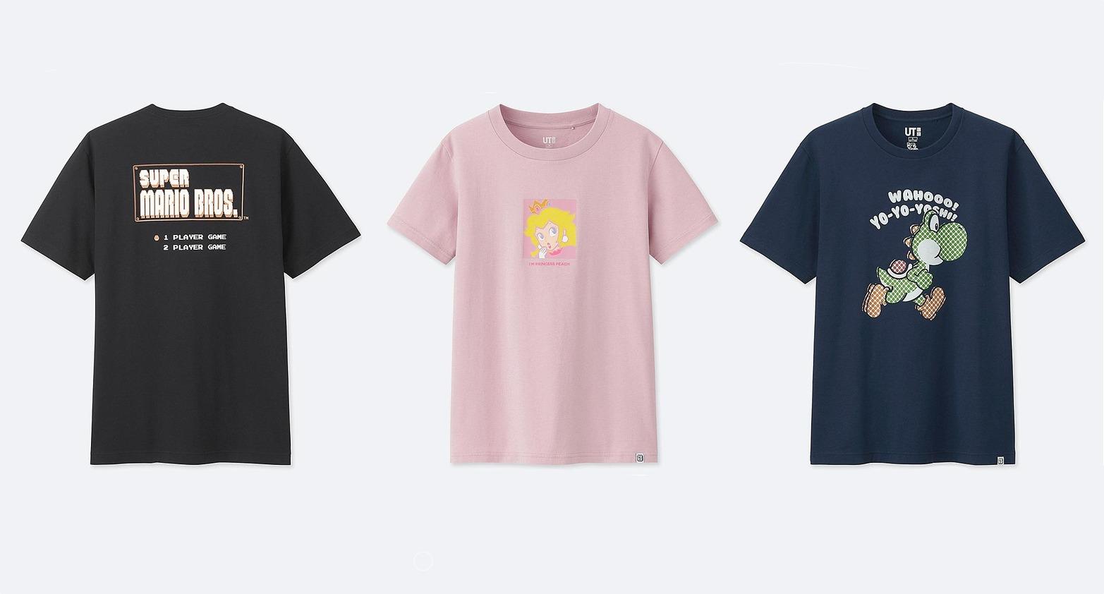 Super Mario Bros. erhält T-Shirt Kollektion bei Uniqlo