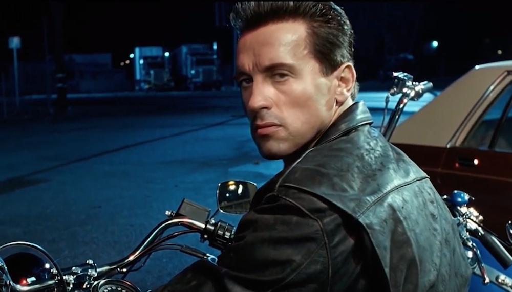 Deep Fake 'Terminator 2' bike theft scene features Silvester Stallone