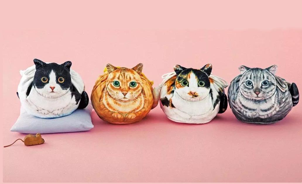Sehr realistische Katzen-Tragebeutel