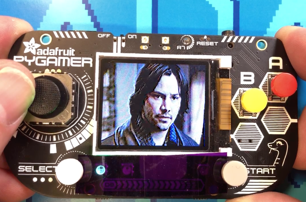 Keanu Reeves 'Gif Player' Handheld