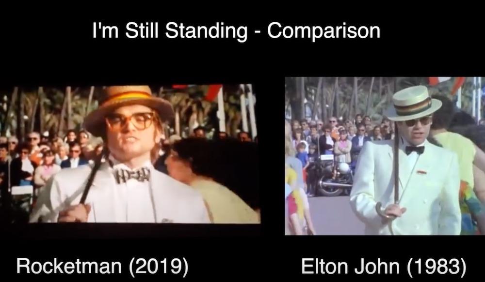 I'm Still Standing Comparison