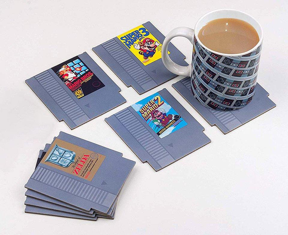 NES Cartridge Untersetzer