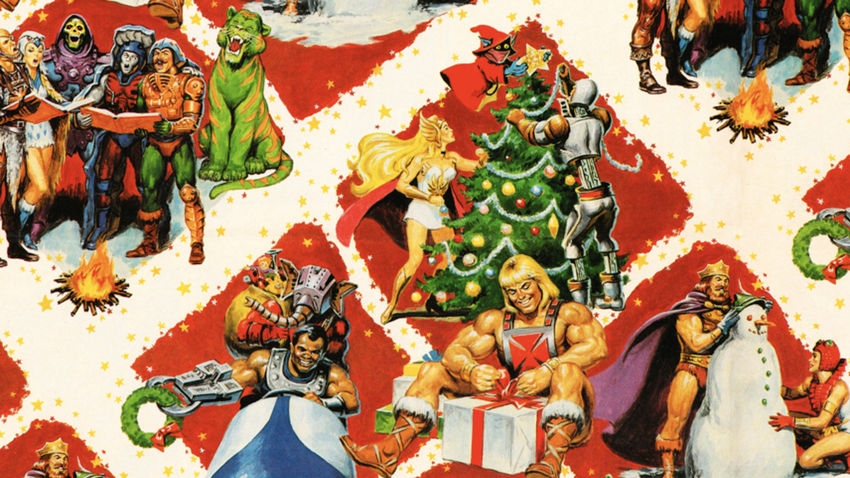 MOTU Wrapping Paper