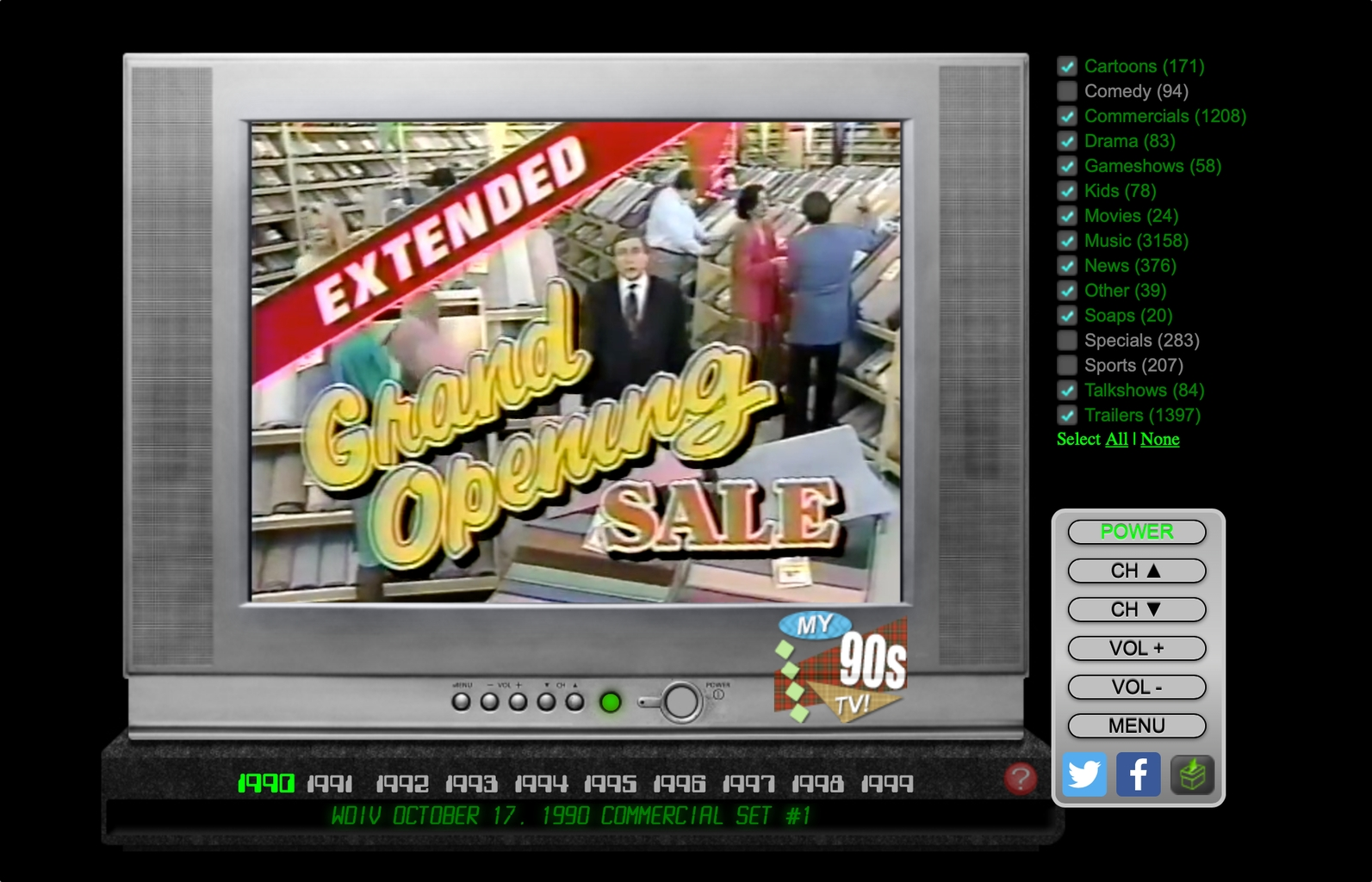 Internets greatest Place for Nostalgia TV