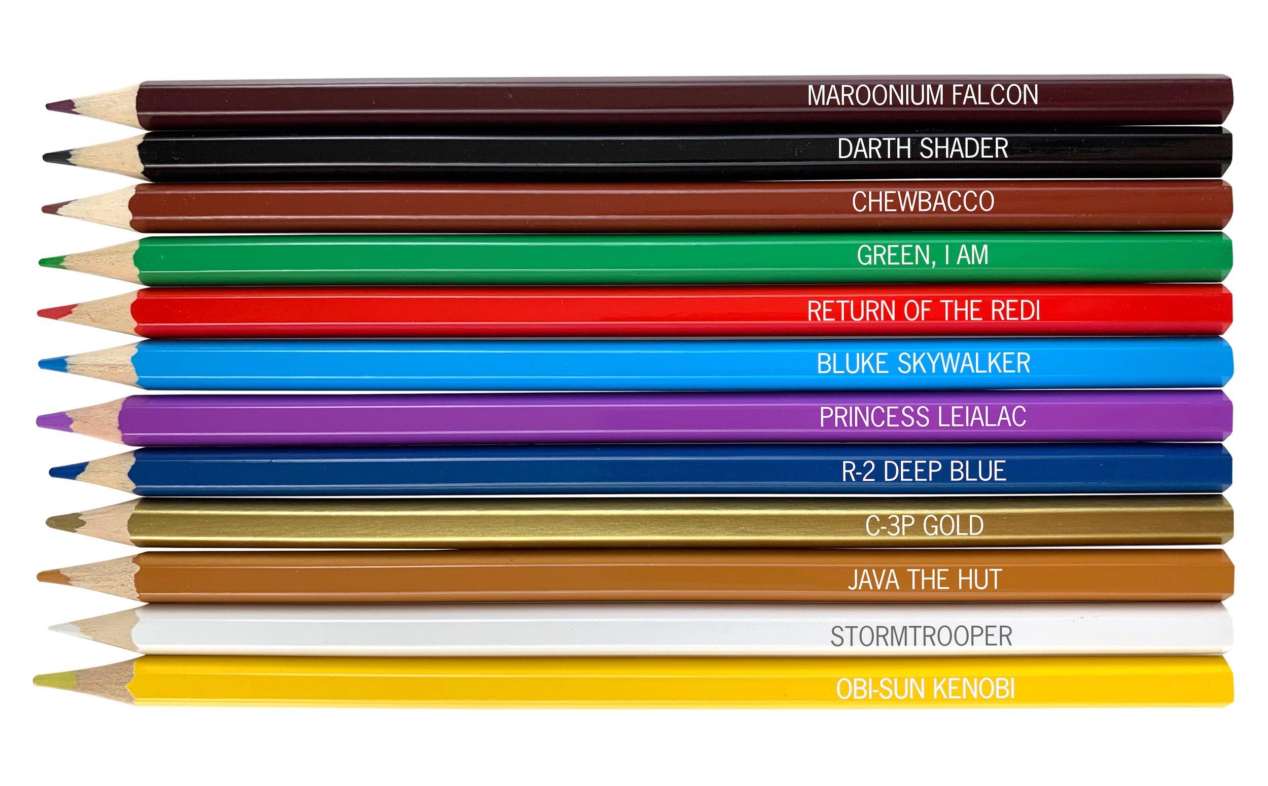 Pop Culture Pencils