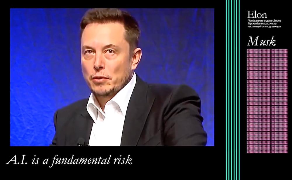 Elon Musk as a Grimes Song