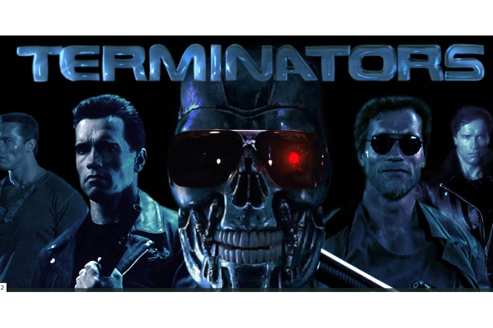 TERMINATORS killing each other in the perfectly cut shortfilm