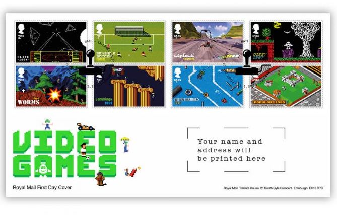 Royal Mail - Video Game Stamps