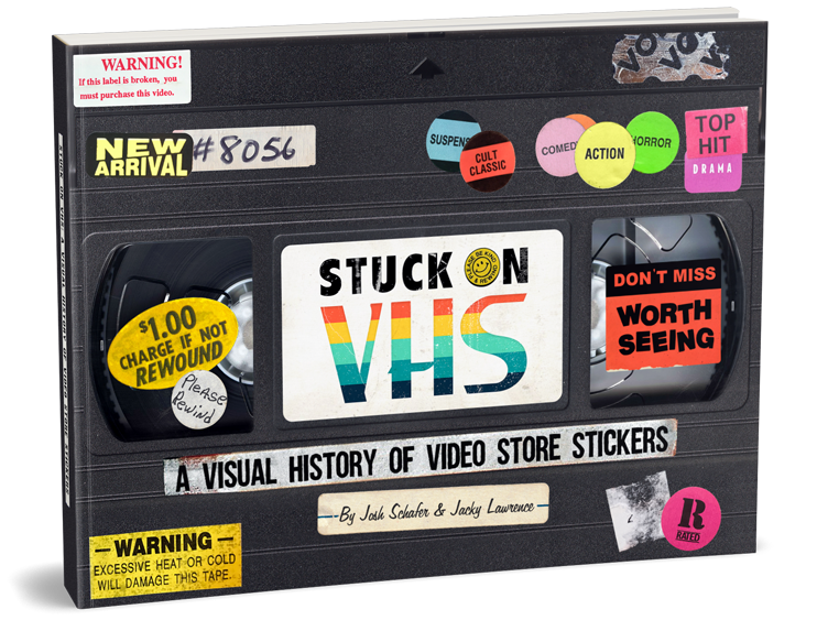 Stuck on VHS: A Visual History of Video Store Stickers