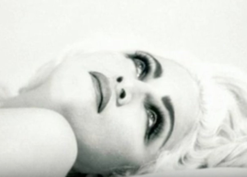 Madonna's 'Justify My Love' just with backing Vocals