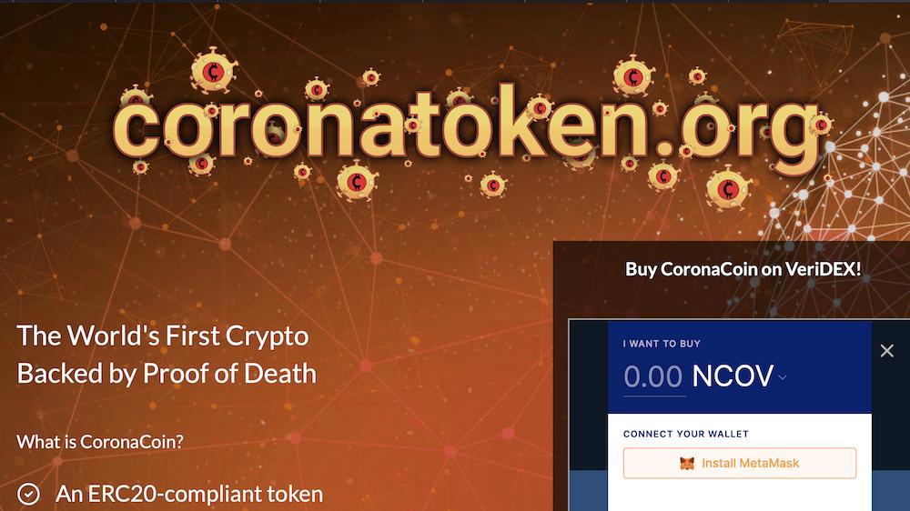 Coronatoken: Die Kryptowährung zum Corona Virus