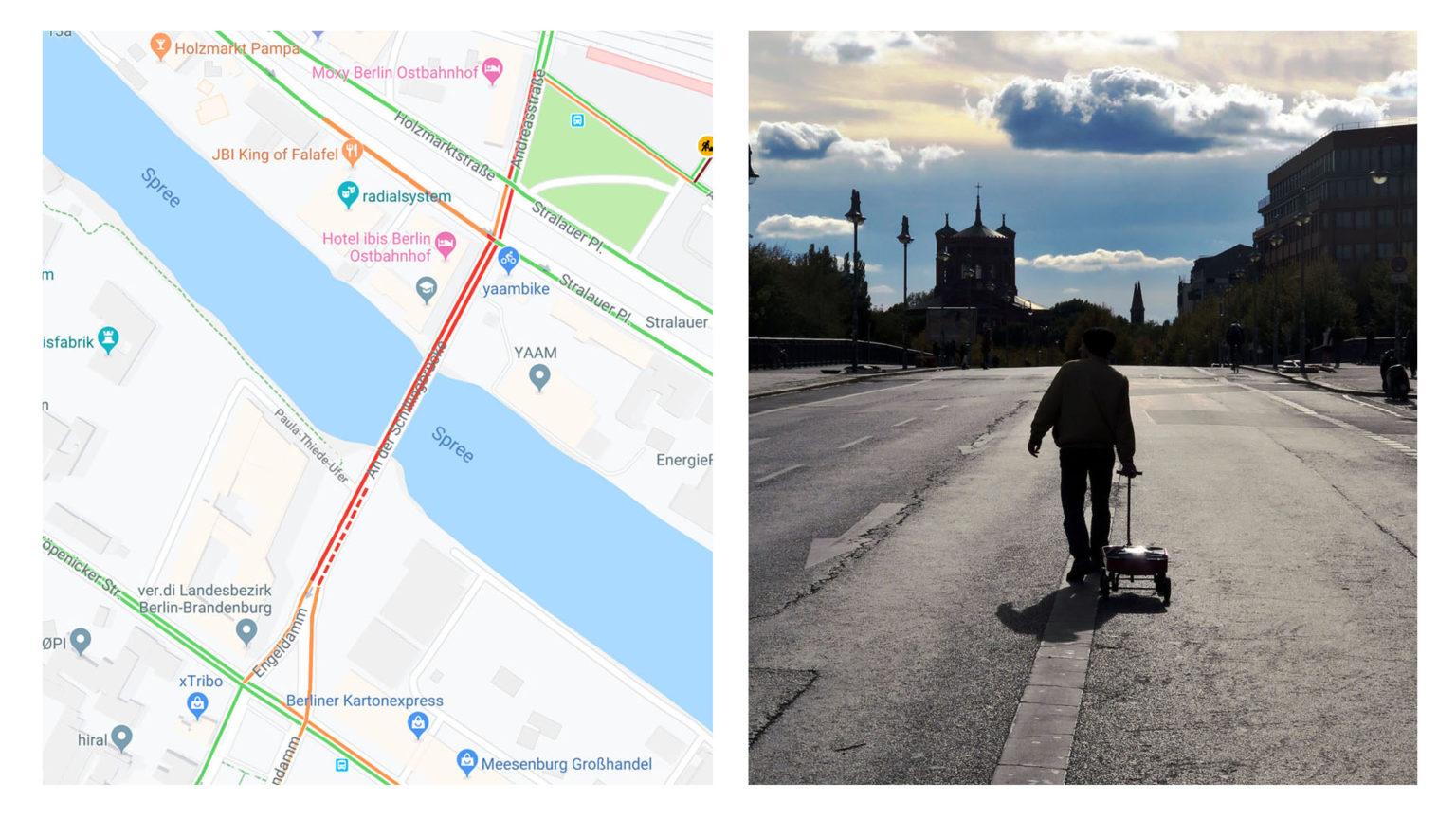 Google Maps: Virtual Traffic Jam