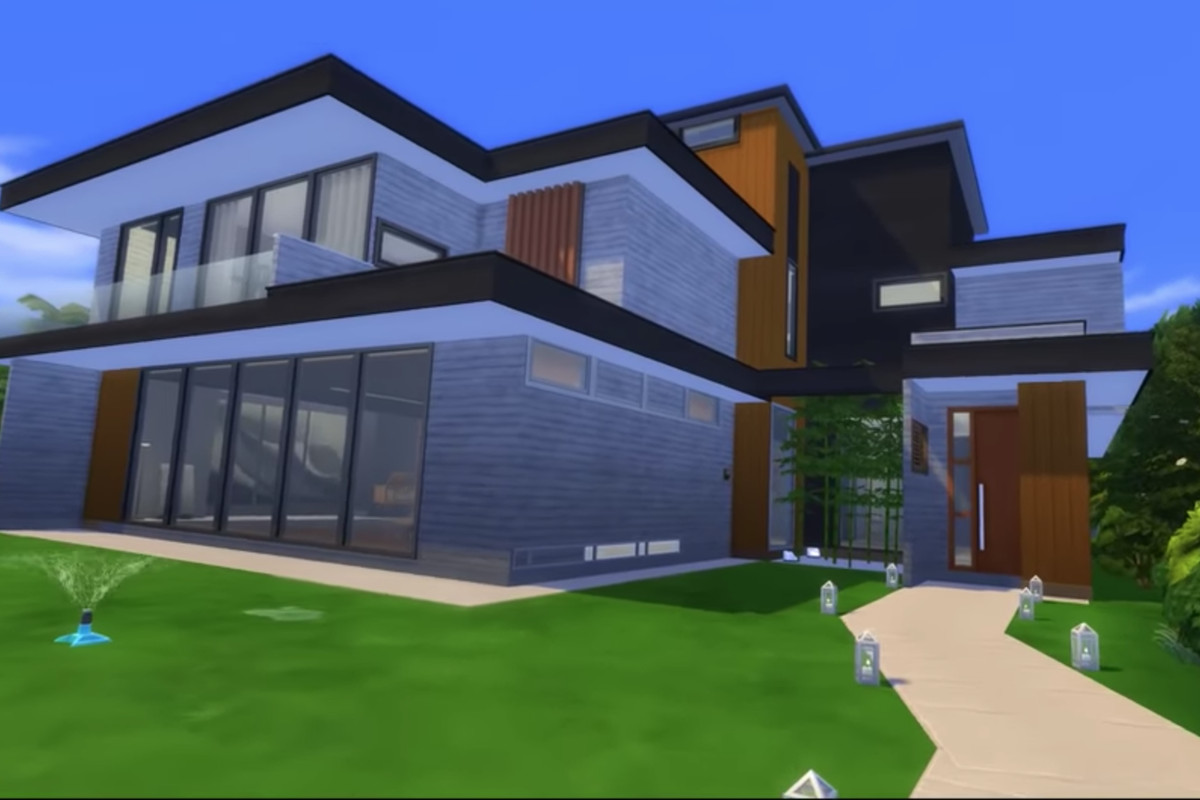 'Parasite' house recreated in the Sims 4