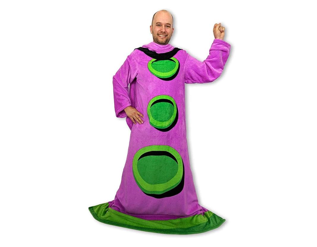 Purple Tentacle Wearable