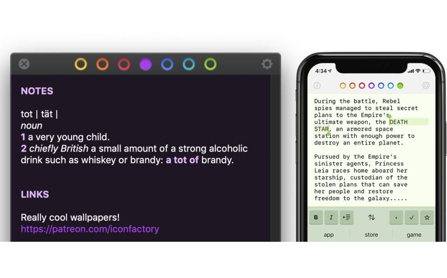 Tot: Notiz-Minimalismus für für iOS und Mac  ?