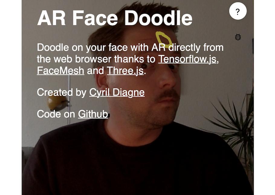 AR FaceDoodle