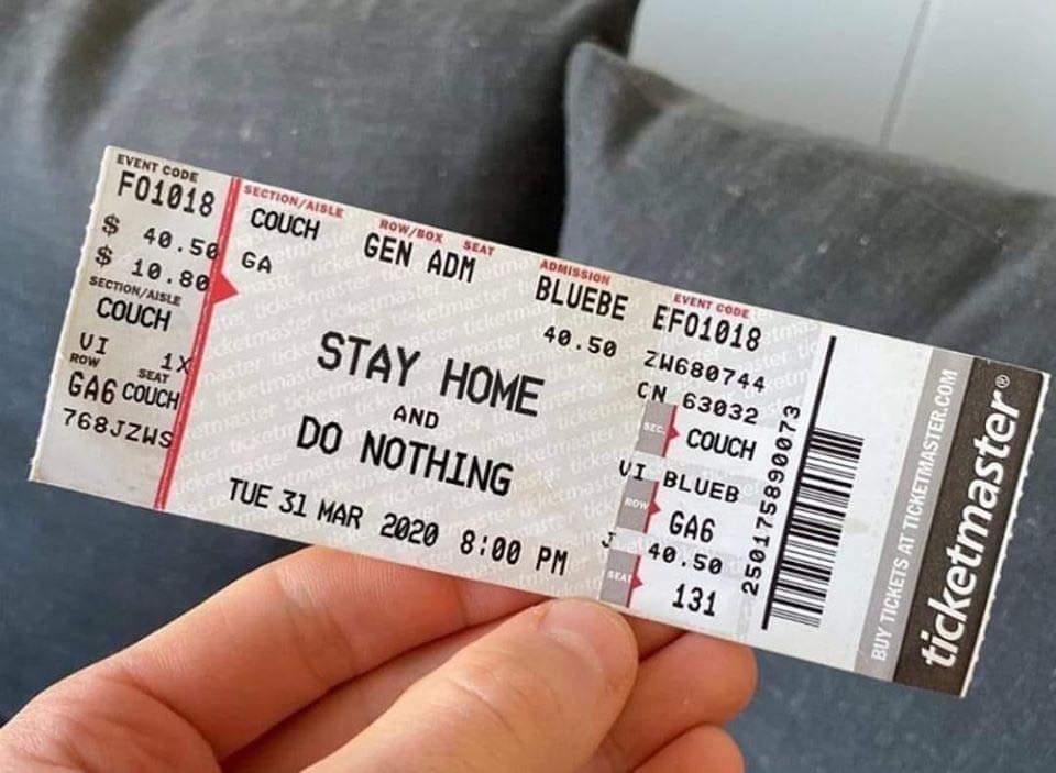 Endlich die Tickets für Samstag sind da...