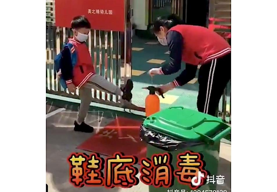 Chinese School Kids Hygiene Routine