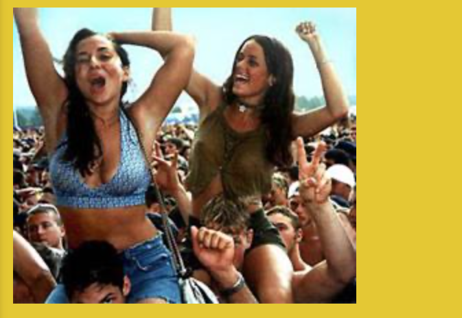 Woodstock '99 website is still operational and feels like getting into a Time Machine
