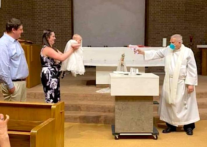 Squirt Gun Baptism ??