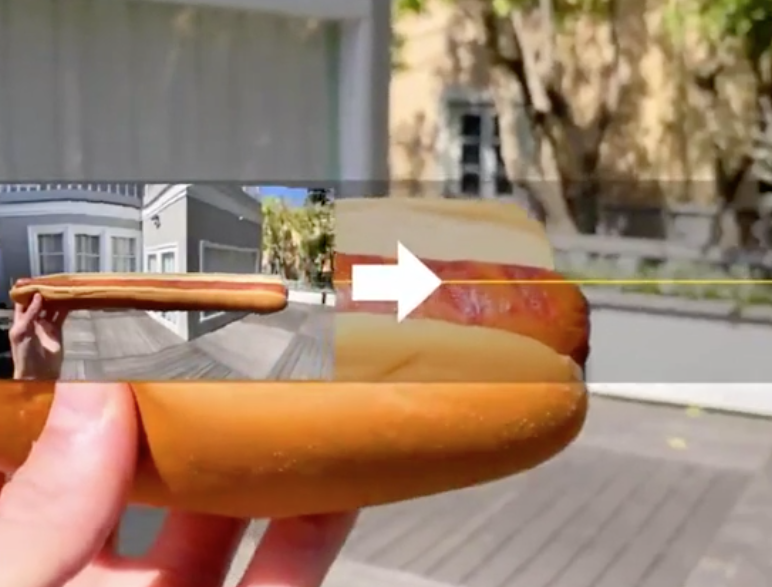 Panorama-Hotdog ?