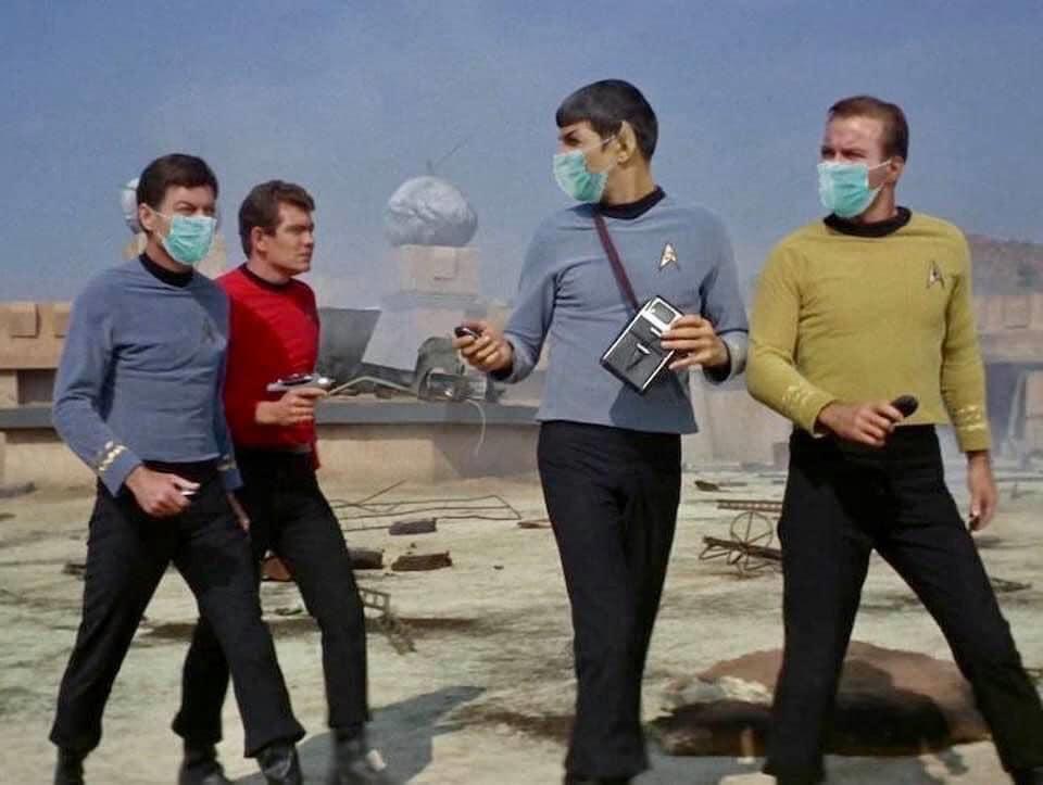 Don't be a Redshirt: Wear a Mask ?