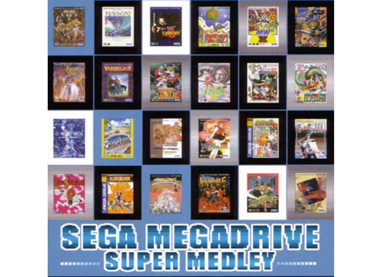 Sega Mega Drive Super Medley