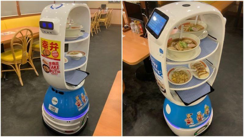 Ramen Robot Waiter