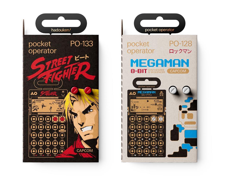 CAPCOM Pocket Operators
