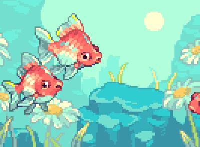 Pixel Fishes