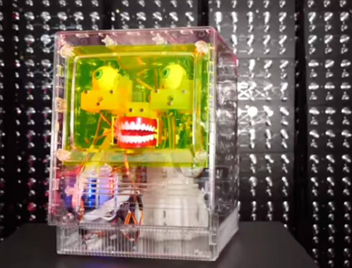 FACIAL RECOGNITION ROBOT WITH A FURBY BRAIN