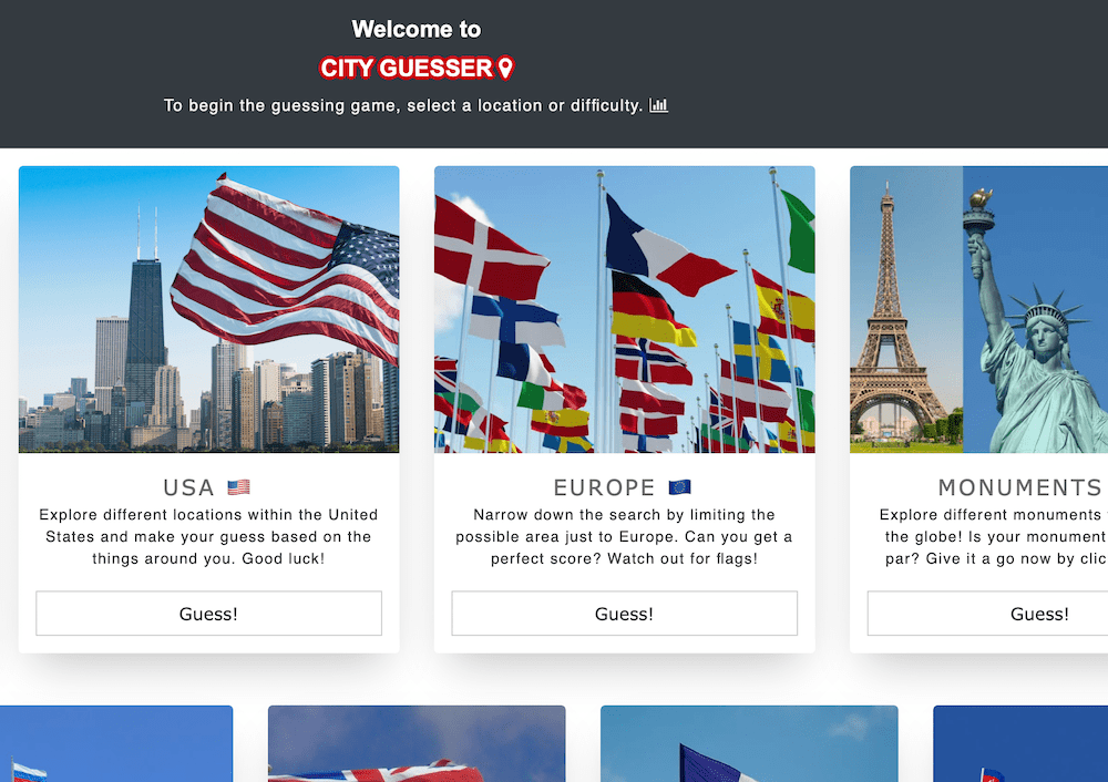 City Guesser - Location Quiz
