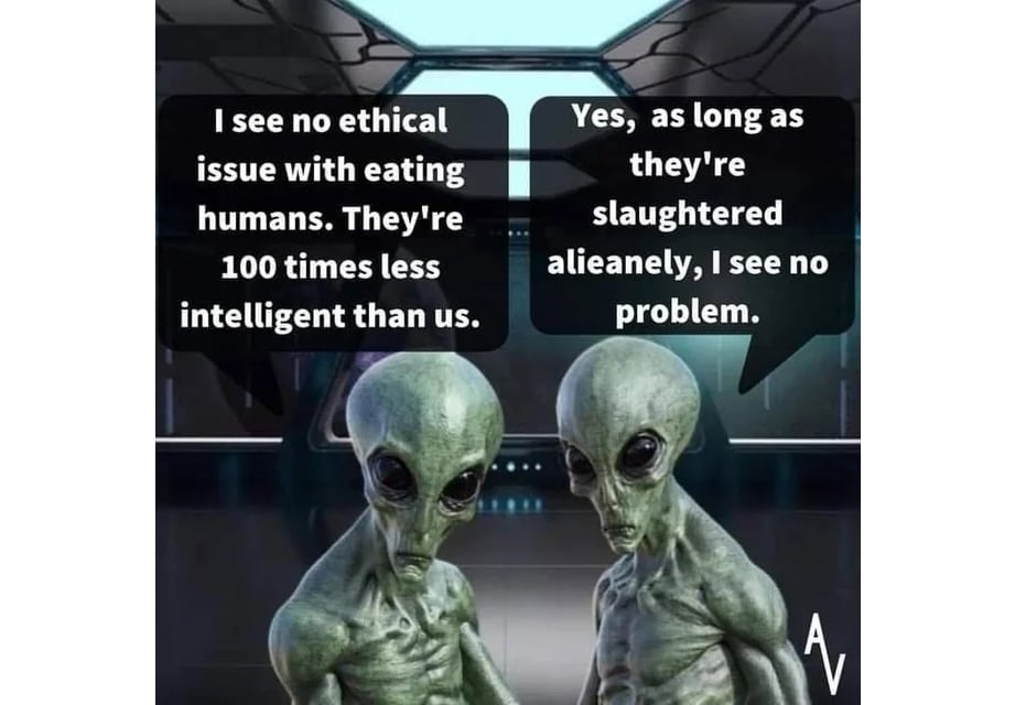 I See no ethical issue... 👽🖖