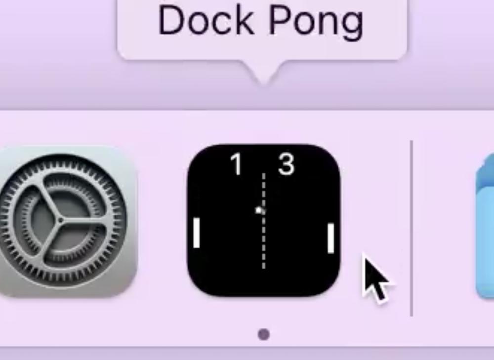 Dock Pong