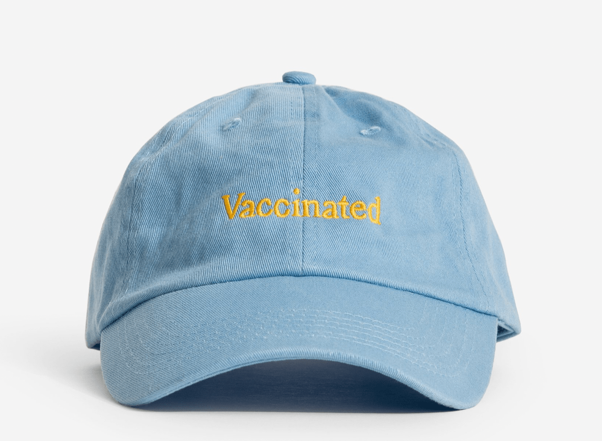 Vaccinated Cap
