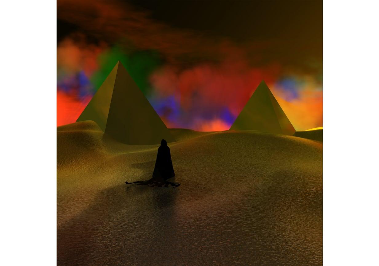 Desert sand feels warm at Night: 新世界の弟子たち (sand filled vinyl)