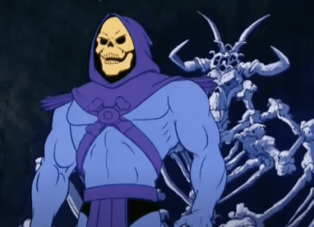 Skeletor has a pleasant day