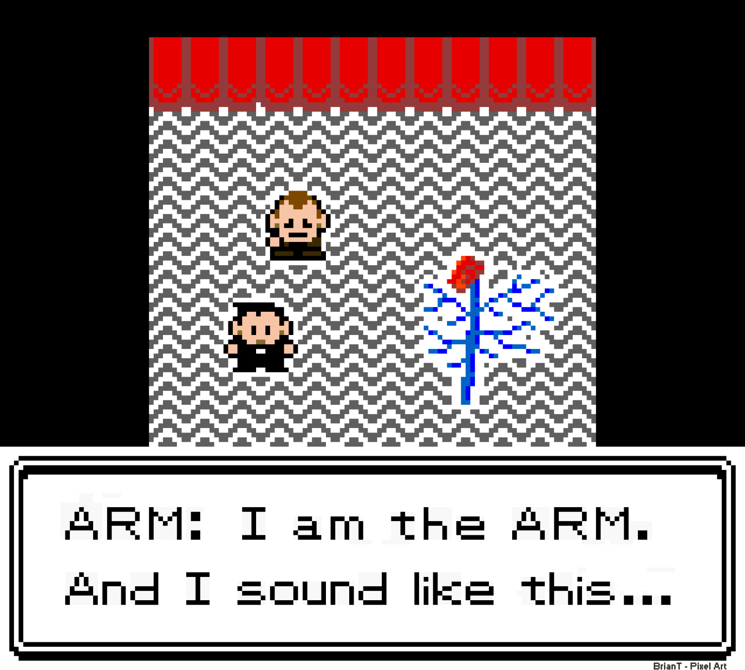 I am the ARM. And I sound like this...