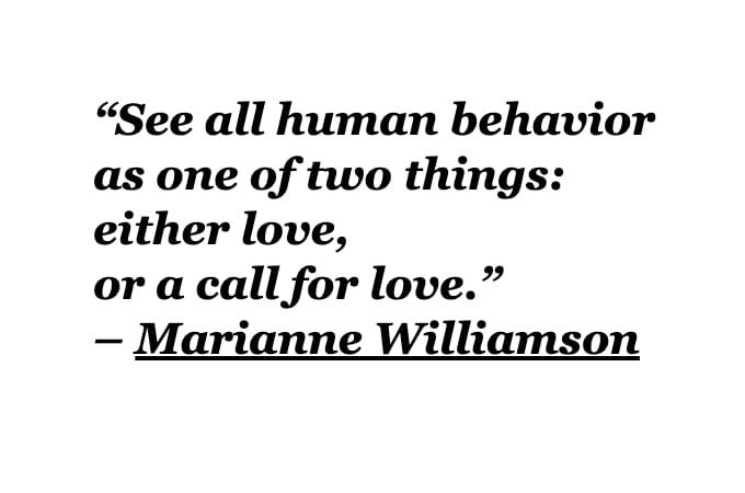 All human behavior