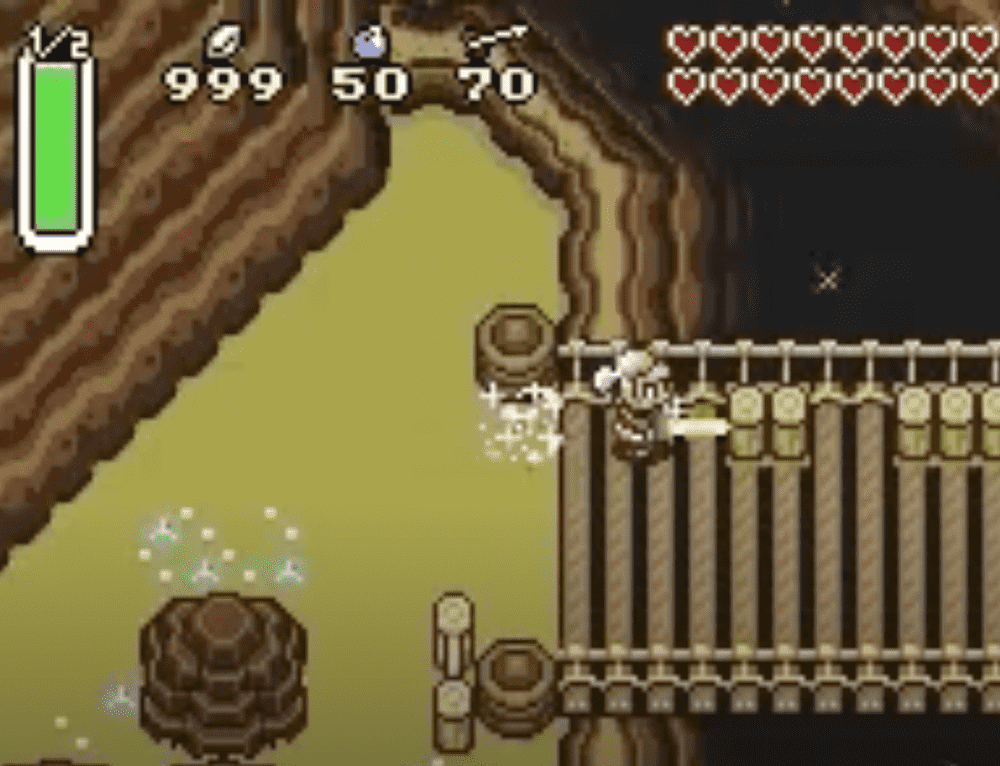 The Legend Of Zelda : A Link To The Past Glitch