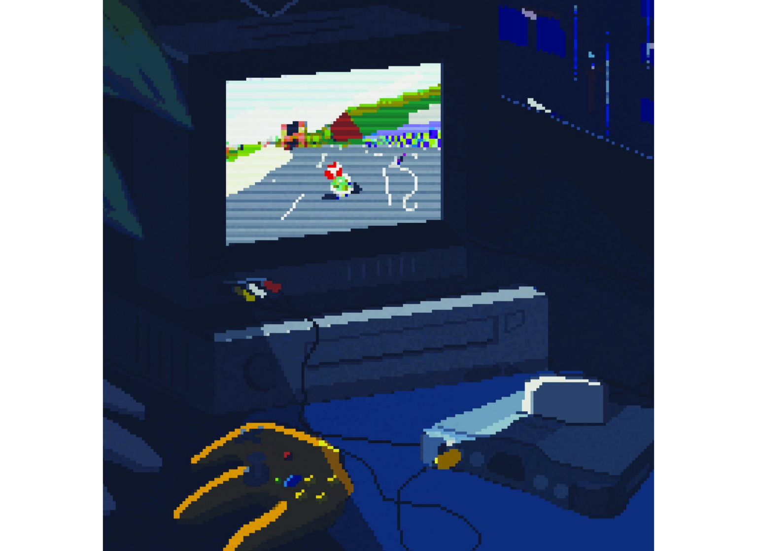 Mario Kart NES (Vinyl)